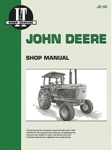 john deere shop manual 4030 4230 4430&4630 (jd-50): penton staff:  9780872880856: amazon.com: books  amazon.com