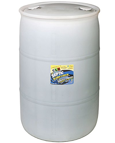 CLR Sep-55Pro  Septic Treatment and Drain Care System, 55 gal Drum by CLR