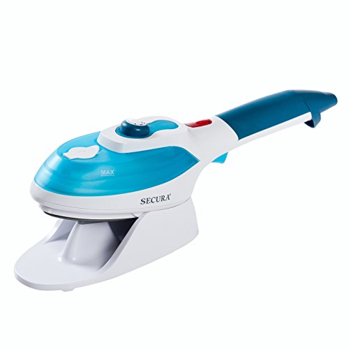 Secura Turbo Blast 2-in-1 Garment Steamer and Steam Iron
