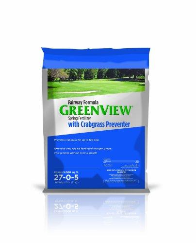 Lebanon GreenView Fairway Formula Spring Fertilizer Plus Crabgrass Preventer, 17 lb