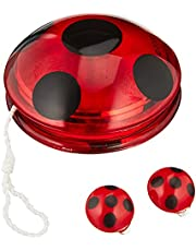 Rubies Miraculous Yo-Yo Lieveheersbeestjeskostuum en clip-on-oorbellen