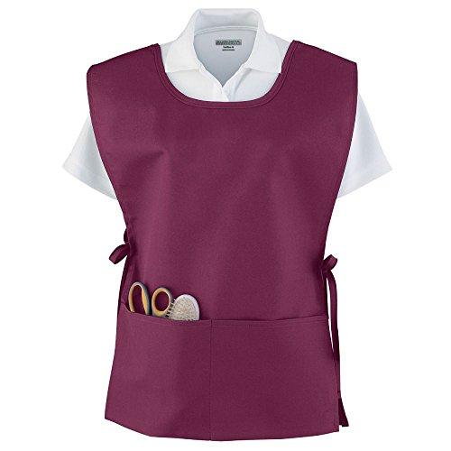 Dazzle Cloth Uniform - Augusta Sportswear Augusta Smock, Maroon, One Size