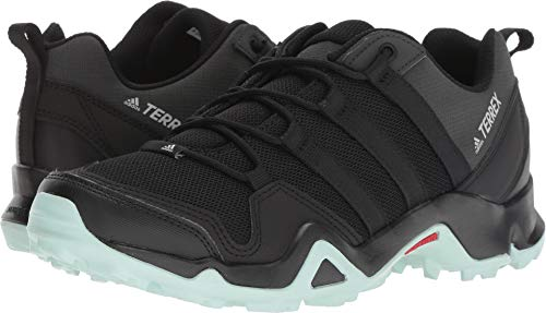 adidas outdoor Terrex AX2R Hiking Shoe - Women's Black/Black/Ash Green, 6.5