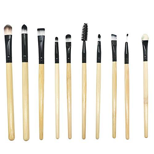 Price comparison product image Face Makeup Brushes Tool,  Sdoo 10 Pcs Makeup Brush Set Professional Face Eye Shadow Eyeliner Foundation Blush Concealers Make Up Brushes Kit Tops (B)