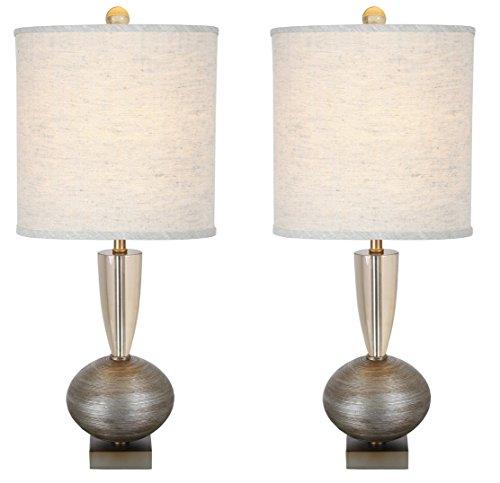 (Van Teal 130972PR Set of 2 Lamps, Dark Silver, 2)