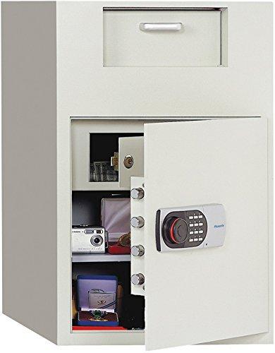 Phoenix Front Loading Digital Lock Depository Safe with Inner Locking Door 3.48 cu ft ()
