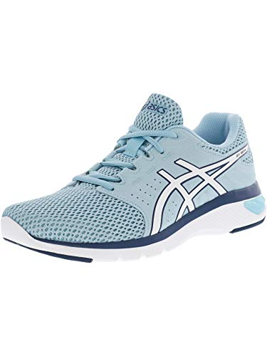 ASICS Women's Gel-Moya Porcelain Blue/White Ankle-High Running Shoe - 9.5M
