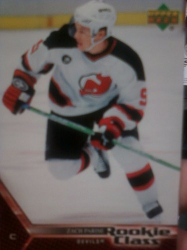 (2005 06 Upper Deck Zach Parise New Jersey Devils Hockey