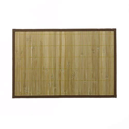 45 x 30 cm marr/ón Claro salvamanteles de bamb/ú kela
