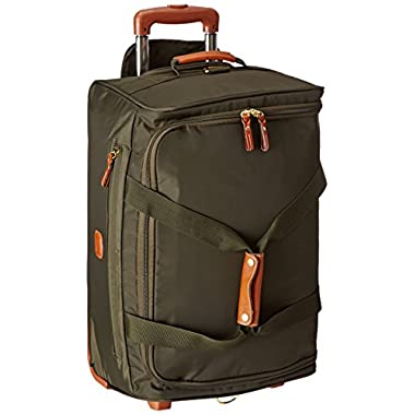 Bric's 21 Inch Rolling Duffle, Olive, One Size