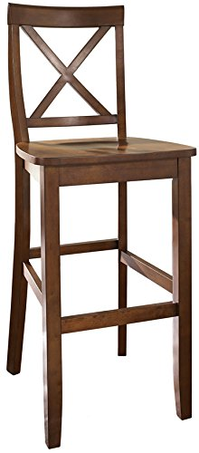 Amazoncom Crosley Furniture Cf500430 Ch X Back Bar Stool Set Of 2