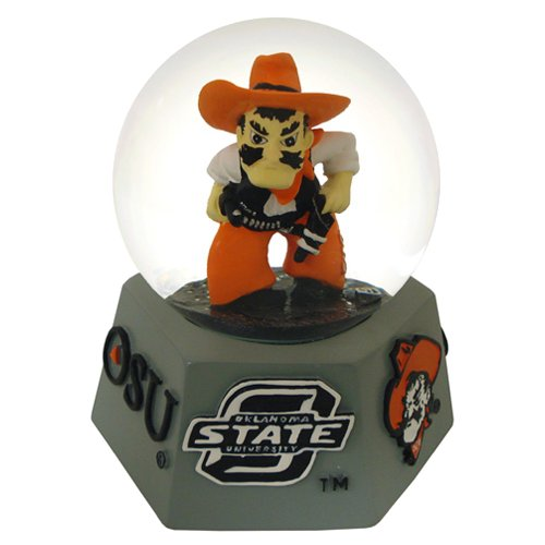 NCAA Oklahoma State Cowboys Musical Snow - Musical Water Globe College