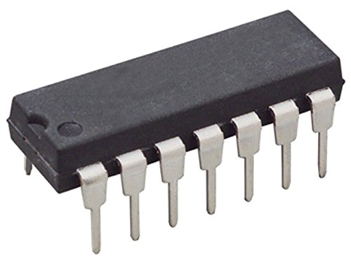 - Major Brands CD4070 ICS and Semiconductors, Quad 2-Input Exclusive OR Gate, DIP-14, 280ns (Pack of 10)