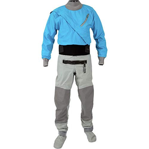 (Kokatat Men's Hydrus Meridian Drysuit-Electric Blue-L)