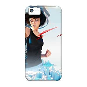 Forever Collectibles Mirrors Edge Game Hard Snap-on Iphone 5c Case by Maris's Diary