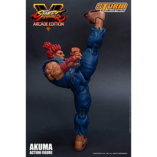 (Storm Collectibles Street Fighter V: Arcade Edition Akuma (Nostalgic Costume) 1/12 Action)