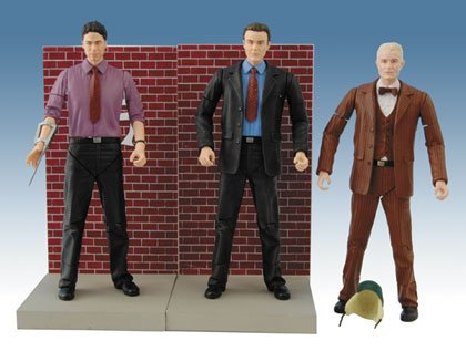 Buffy The Vampire Slayer Watcher's Guide Box Set of 3 Action Figures (Rupert Giles, Wesley Wyndham-Price & Spike as Randy Giles) (Best Buffy Spike Episodes)
