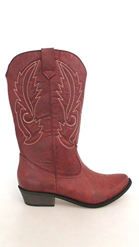 Kokosnøtter Av Matisse Womens Gaucho Boot Red