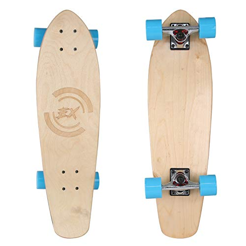 Skateboard Standard 27″ Skateboards Cruiser Complete Canadian Maple 8 Layers Double Kick Concave Skate Boards