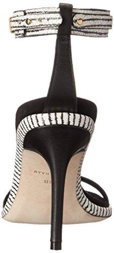 Snake Cyro de vestido Black White Cole Optic Print Haan la sandalia zwf5Pqx