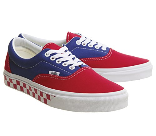 Vans Unisex Adults' U ERA (GOLDEN COAST) Low True Blue Red Checker discount online rFT0aUMS