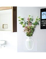 FANZHOU Vaso Magico in Silicone Portatile Rimovibile Verde Autoadesivo Parete di Vetro Piccolo Vaso Decorazione per Home Office Regalo Festa Nuziale Ristorante