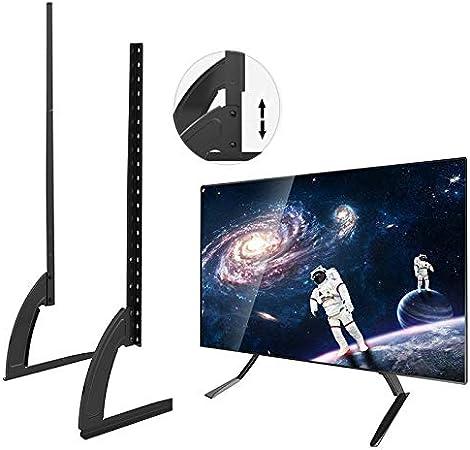 CAOMING 35 – 72 Pulgadas de Altura Ajustable Universal Soporte Base de Escritorio TV Mount para TV LCD Flat Screen Durable: Amazon.es: Hogar