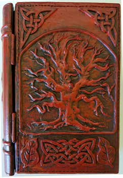 AzureGreen Decorative Boxes Tarot Card Holder Bountiful Tree of Life Book Box With Hinged Cover