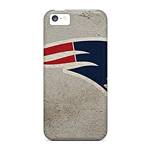 High Quality Shock Absorbing Case For Iphone 5c-new England Patriots