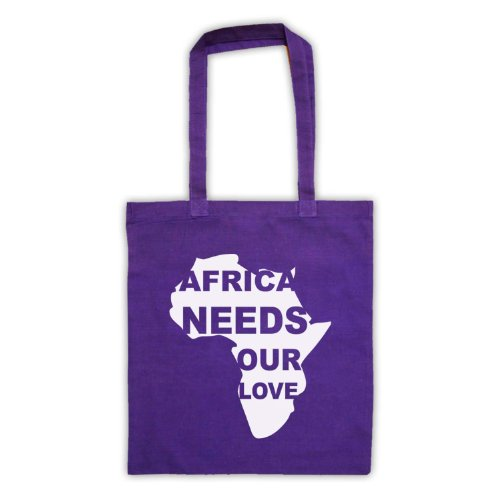 Bag Purple Protest Love Needs Tote Slogan Africa Our qcAv8Yxw6F