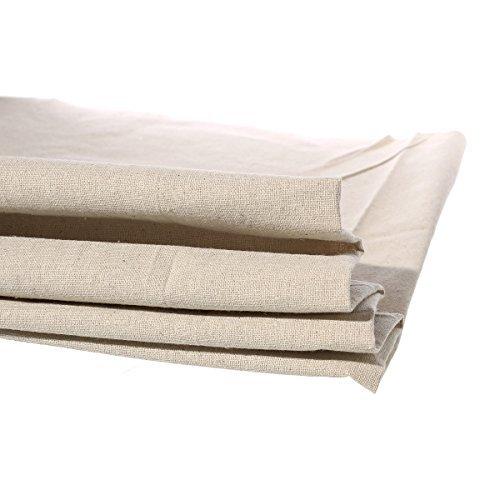 (1 Yard Cotton Linen Natural Fabric Sewing DIY Cloth 158cm)