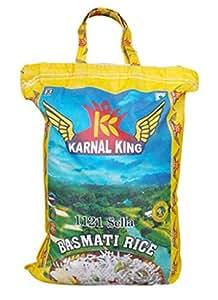 King Karnal Long Grain Sella Basmati Rice 10 kg