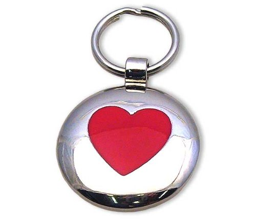 Pet ID Tag – Janey's Heart – Custom engraved cat and dog tags. Jewelry that ensures pet safety. Available in 2 colors and sizes., My Pet Supplies