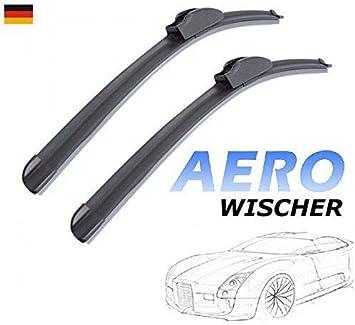 550mm 400mm Good Wiper Aero 2x Front Scheibenwischer Flachbalkenwischer Mit Hakenbefestigung Wischerblätter Set Für Auto Frontscheibe Inion Auto