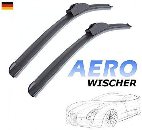 530mm 480mm GOOD WIPER AERO 2x Front Scheibenwischer Flachbalkenwischer mit Hakenbefestigung Wischerbl/ätter Set f/ür Auto Frontscheibe INION