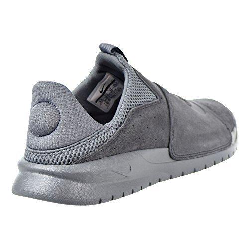 Nike Mens Benassi Slip Athleisure Slip On Casual Shoes Gray 12 Medium (D)