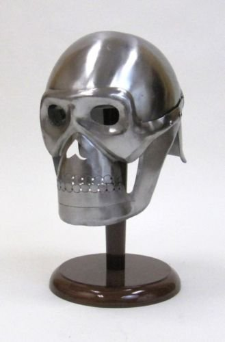 Arsh Nautical Pirate Skeleton Armor Helmet ~ Medieval Knight Crusader Spartan ~ Nice Steel Armer