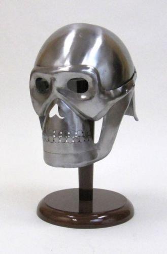 Arsh Nautical Pirate Skeleton Armor Helmet ~ Medieval Knight Crusader Spartan ~ Steel Armer D -