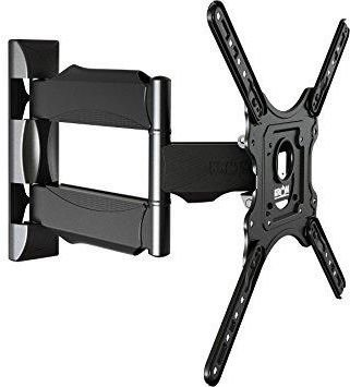 Model-P4 6 Way Swivel Tilt Wall Mount 32-55-inch Full Motion Cantilever for LED,LCD and Plasma TV's TV Wall & Ceiling Mounts at amazon