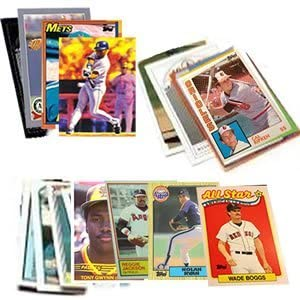 B0029A8LW8 40 Baseball Hall-of-Fame & Superstar Cards Collection - Look for Cal Ripken, Nolan Ryan, Ken Griffey, Babe Ruth, Tony Gwynn, & Wade Boggs. Ships in Protective Plastic Case Perfect for Gift Giving 41xjezkbeUL