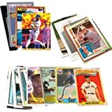 40 Baseball Hall-of-Fame & Superstar Cards Collection - Look for Cal Ripken, Nolan Ryan, Ken Griffey, Babe Ruth, Tony…