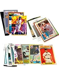40 Baseball Hall-of-Fame & Superstar Cards Collection - Look for Cal Ripken, Nolan Ryan, Ken Griffey, Babe Ruth, Tony Gwynn, & Wade Boggs. Ships in Protective Plastic Case Perfect for Gift Giving