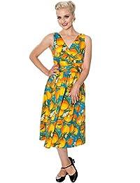 Banned Laneway Vintage Retro Print Dress