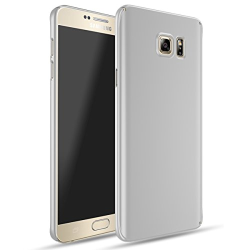 Slim Fit Hybrid Case for Samsung Note 5 (Silver) - 7