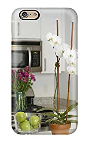 [dFGRRhi1068iExNE] - New Flowers In White Kitchen Protective Iphone 6 Classic Hardshell Case(3D PC Soft Case)