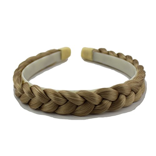 Braid Headband (Merrylight Synthetic Braided Hairband Hair Braid Headband(Ash Blonde-M24/88))