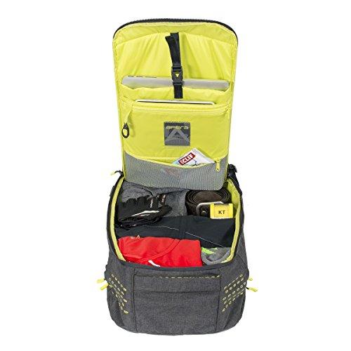 Apera Locker Pack Fitness Bag, Graphite