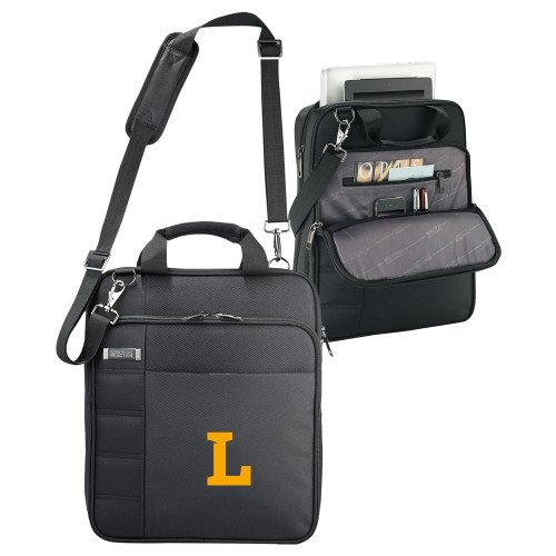 Lipscomb Kenneth Cole Black Vertical Checkpoint Friendly Messenger 'Primary Mark' by CollegeFanGear