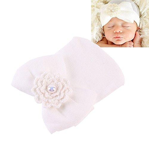 Emitha Chapeau de bébé et Bandeaux de fleur Photographie Belles Cheveux Accessoires - 6pcs