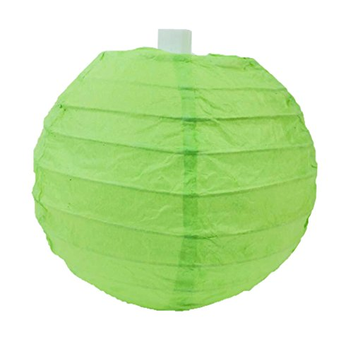 SUNBEAUTY-410cm-Pack-of-5-Paper-Lanterns-for-Wedding-Invitation-Birthday-Party-Home-Decoration-Light-Green